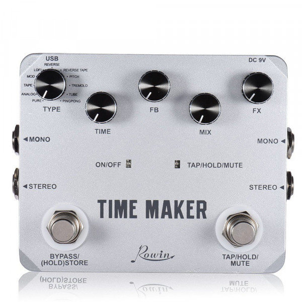 Rowin LTD-02 Time Maker Delay Pedal