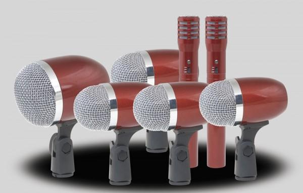 Professionelles Schlagzeug-Mikrofon Set