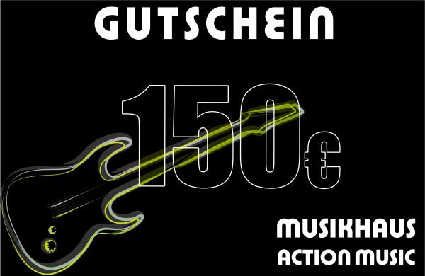ACTION MUSIC Gutschein über 150.-€