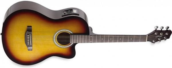 Stagg Westerngitarre SWA6CETU-VS