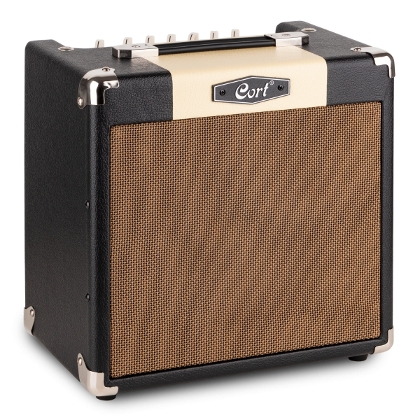 CORT E-Gitarrencombo, CM15R, schwarz, 15 Watt