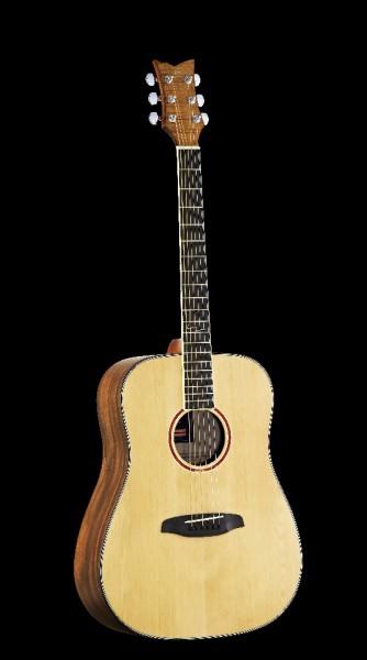 ORTEGA Westerngitarre 6-Saitig CORAL-20E