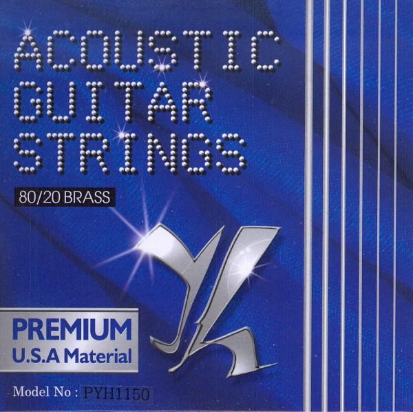 Saiten für Westerngitarre Tomay Premium 11-50