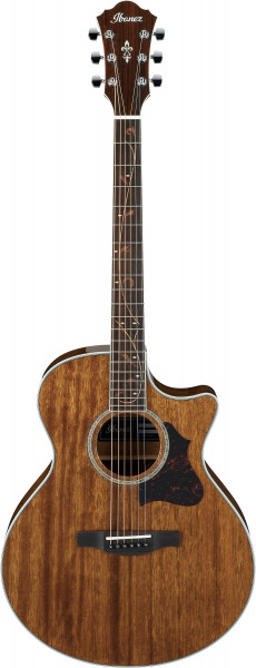 IBANEZ AE Series Akustikgitarre 6 String Natural High Gloss, AE245-NT