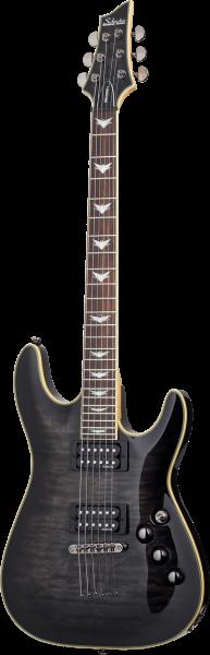 SCHECTER E-Gitarre, Omen Extreme 6, See-Thru Black SC2025