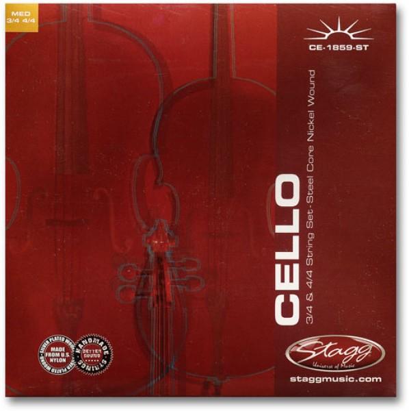 Cello Saitensatz 3/4, 4/4 CE-1859-ST