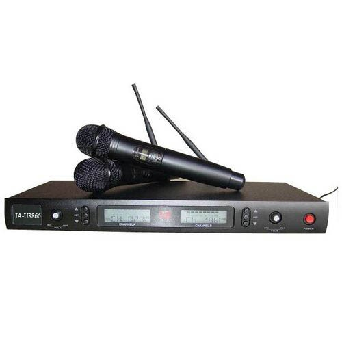 Funkmikrofonmikrofon Set JA-U8866