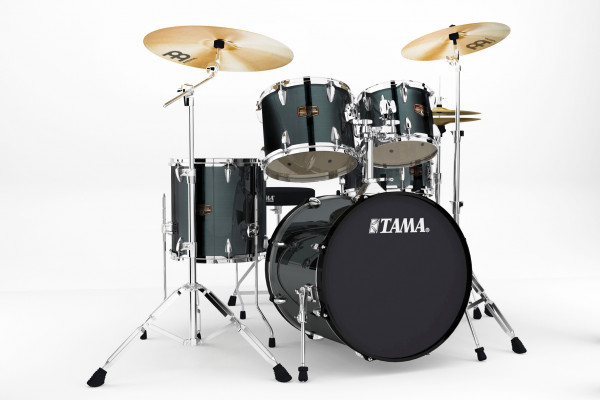 Schlagzeugset TAMA IMPERIALSTAR IP50H6-HBK FINISH: Hairline Black (HBK)