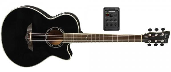 VGS E-Akustikgitarre V-2 CE Passat, black