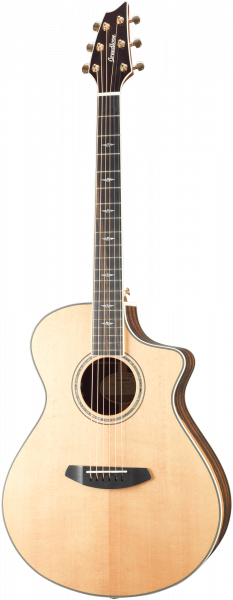 BREEDLOVE Westerngitarre, Stage Exotic, Concert, Cut, Natural Gloss, BRSEC23CE
