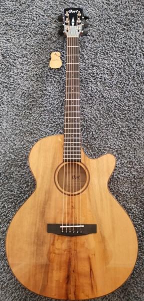 CORT Westerngitarre, SFX-Myrtlewood, Natur Hochglanz, Preamp, COSFXMYRTLEN