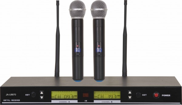 Funkmikrofonmikrofon Set JA-U8870