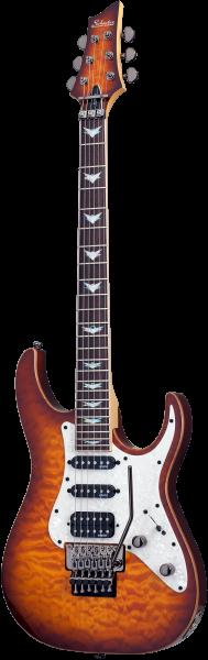 SCHECTER E-Gitarre, Banshee 6 FR Extreme, Vintage Sunburst SC1993
