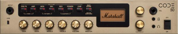 """MARSHALL E-Gitarrencombo, 50 Watt, 1x12"""", CODE-Serie, MRCODE50"""