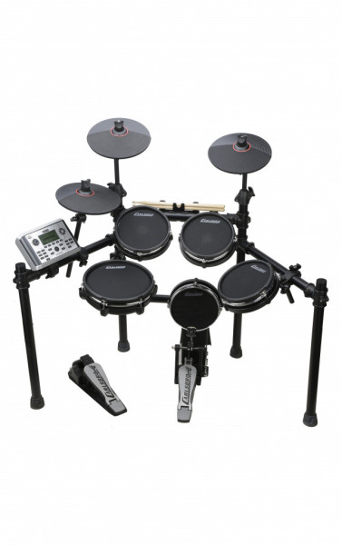 E-Drumkit mit Mesh-Fellen, CSD401
