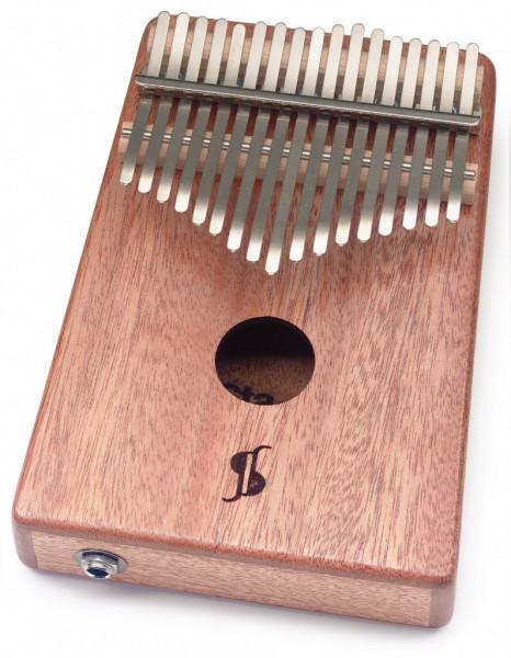 Professionelle Eletro-Akustische Kalimba mit 17 Zungen KALI-PRO17E-MA