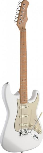 E-Gitarre Stagg S SER.VINT.STYLE EL.GT-WHITE SES50M-CWH
