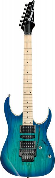 IBANEZ RG-Standard E-Gitarre Blue Moon Burst / Esche Korpus RG370AHMZ-BMT