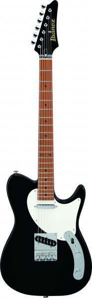 IBANEZ Josh Smith Signature E-Gitarre 6 String Black + Case, FLATV1-BK