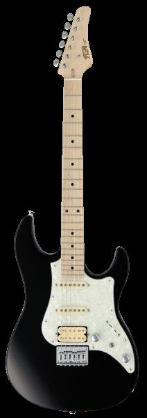 FGN E-Gitarre Boundary Odyssey 2 HSS Black, FGBOS2MHSSBK