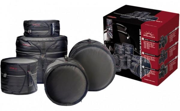 DELUXE Schlagzeugtaschensatz STAGG SPBS-1 PACK/5
