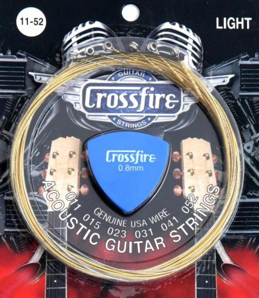 Saiten für Westerngitarre Crossfire CFWGS 11-52