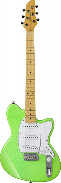 IBANEZ Yvette Young Signature E-Gitarre 6 String Slime Green Sparkle YY10-SGS