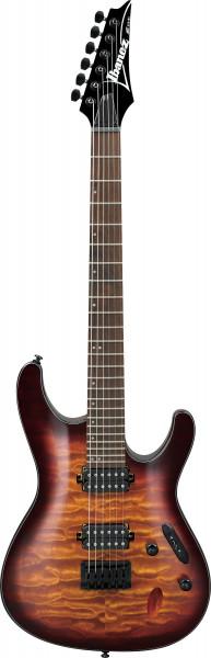 IBANEZ S-Serie E-Gitarre 6 String Dragon Eye Burst, S621QM-DEB