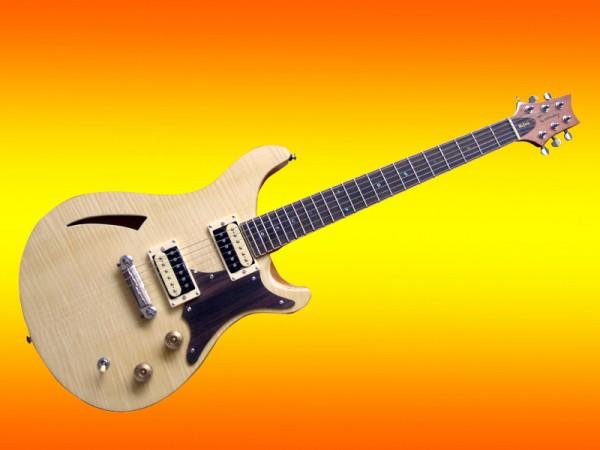 E-Gitarre Tomay Semi-Hollow