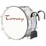 "Tomay Marching Bass Drum 24"" x 14"""
