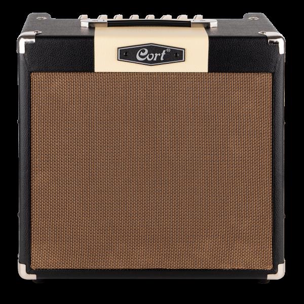 CORT E-Gitarrencombo, CM30R, schwarz, 30 Watt, COCM30RBK