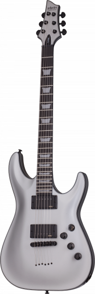 SCHECTER E-Gitarre, Platinum C-1, Satin Silver, SC811