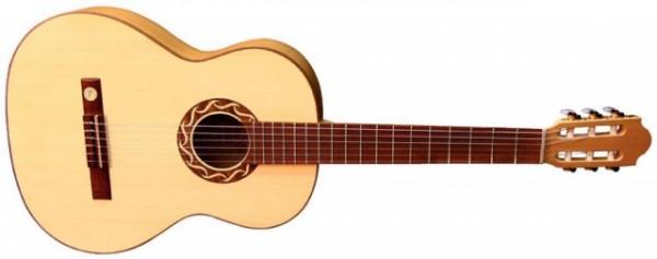 Pro Natura Konzertgitarre Gold 4/4 Größe
