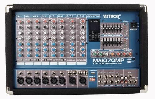VISTRON Power Mixer MA-1070MP