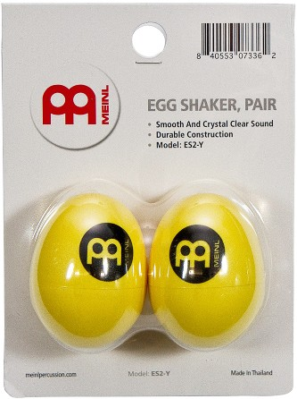 Meinl Egg Shaker ES2-Y, GELB