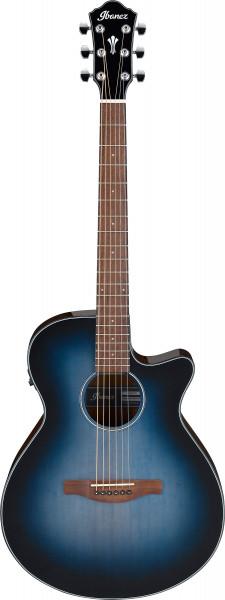 IBANEZ AEG Series Akustik/Elektrische-Gitarre 6 String Indigo Blue Burst High Gloss, AEG50-IBH