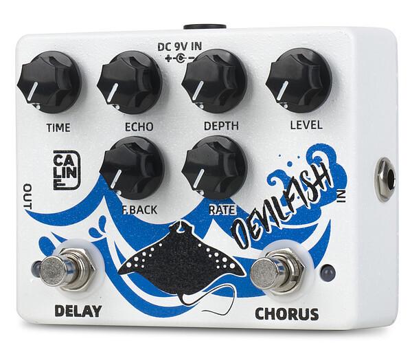 Caline DCP-03 Devil Fish Delay & Chorus