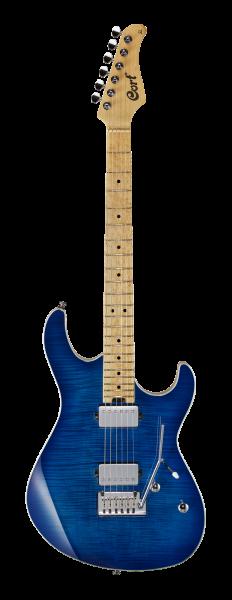 CORT E-Gitarre, G290 FAT, Bright Blue Burst