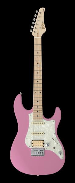 FGN E-Gitarre, Boundary Odyssey, Old Rose Pink, Tasche, FGBOSMORP
