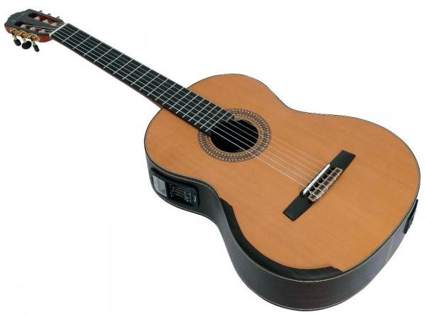 Tomay ACH30A-EQ Konzertgitarre mit TA und Stimmgerät, vollmass