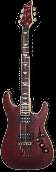 SCHECTER E-Gitarre, Omen Extreme 6, Black Cherry